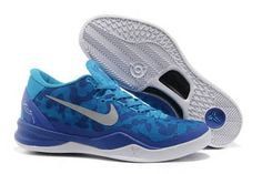 Nike Kobe 8 In Blue/White Colorways Bryant Basketball Shoes For Men