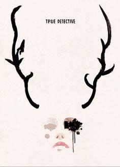 conrad roset - film/tv posters (true detective) ***amazing show
