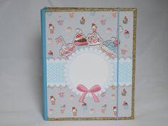 DIN A5 - Ringbuch / Rezepte A5 - ein Designerstück von Steffis-Potpourri bei DaWanda