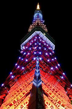 Special Lights  Tokyo Tower, Shiba Minato-ku Tokyo  http://www.tokyotower.co.jp/english/