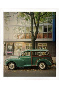 """Morris Minor Traveller """"Woody"""" Copyright: Katja Sonnewend"""