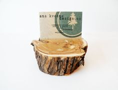 Reclaimed Lilac Holder.. rustic and modern way to display business cards, photos, recipes.. you name it!