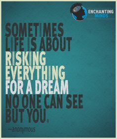 risk everything