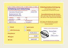 Einladungskarten 50 Geburtstag Ideen 1.052×744 Pixel