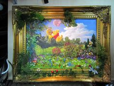 , framed by wickedspaceant on DeviantArt Worlds Largest, Community, Paintings, Deviantart, Canvas, Frame, Artist, Tela, Picture Frame