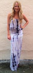 Lavender Tye Dye Maxi