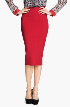 Diane von Furstenberg 'Samara' Pencil Skirt available at #Nordstrom