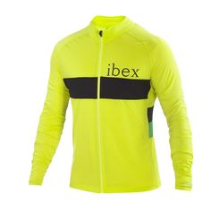 Long sleeve Merino mid-weight cycling jersey
