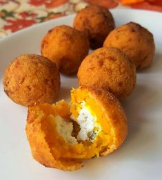 Pumpkin and Goat Cheese Croquettes Gluten Free Pumpkin, Healthy Pumpkin, Canned Pumpkin Recipes, Recipes Dinner, How To Make Salad, Low Carb Keto, Goat Cheese, Dessert, Barbecue