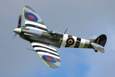 """""""it's like to dance with the most beautiful girl in party"""" says Spitfire pilots...Supermarine Spitfire LF.Vb by Daniel-Wales-Images"""