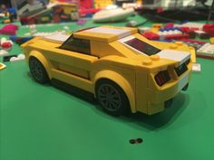 Custom YELLOW Mustang GT. Only available in blue.