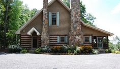 My Houzz: A Rustic, Stress-free Mountain Home in Mentone, Alabama - rustic - Exterior - Birmingham - Corynne Pless