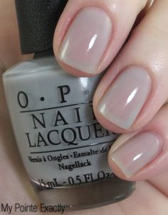 "OPI ""My Pointe Exactly"" (SoftShades New York City Ballet, Spring 2012)"