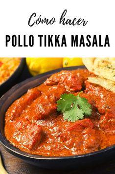 Pollo Tikka Masala, Garam Masala, Tika Massala, Thai Recipes, Chicken Recipes, Pollo Recipe, Pollo Chicken, Korma, New Menu