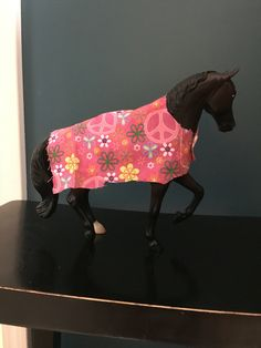 Peace and Flower Horse Blanket