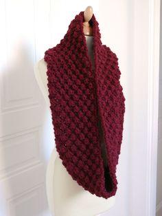 tricot, grosse laine, patron gratuit en français