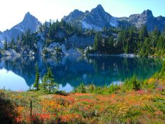 Gem Lake (#1013), High Lakes (#1012). Snoqualmie Pass. Roundtrip10.0 miles, Highest Point4857 ft. (Summer hike)
