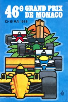 Monaco, 46e Grand Prix 1988