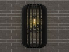 Design | Lamp | 2016 Dimension: 50 x 26 x 80 cm Material: 4mm FSC MDF Weight: 3 KG Socket: E27 Max 20 Watts Format bulb: Ø125 MAX Tori Wall Lamp is made from FSC certified black MDF and it is...
