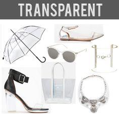 Spring Trend: Transparent