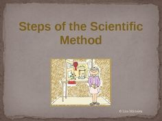 Free - Steps of the scientific method.  This 21 slide presentation Lesson Plan covers the steps of the Scientific Method and Science Experiment Terminology.