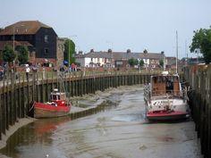 River Tillingham at Strand Quay, Rye, East Sussex