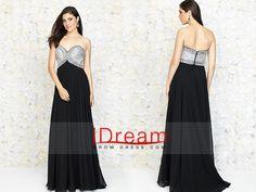 #2015 #sweetheart #beaded #bodice #a #line #chiffon #prom #dress