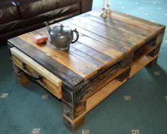 coffee table from pallets - Yahoo Image Search Results