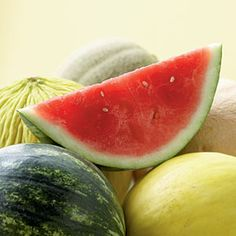 All About Melons - Cooking Light Bacon Nutrition, Fruit Nutrition, Watermelon Nutrition Facts, Broccoli Nutrition, Nutrition Store, Fruit Recipes, Summer Recipes, Fruit Facts, Nutrition Tracker App