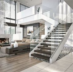 """Fashion - Travel - Lifestyle on Instagram: """"Contemporary living... Via @all.of.architecture"""""""