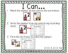 """Back to School Centers for Kindergarten Common Core Aligned. Over 160 pages of Back to School themed centers for Kindergarten. 6 math and 6 reading activities (most can be used in multiple ways). Includes Kinder friendly """"I Can"""" display mats for all activities with common core standards listed on them."""