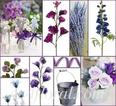 rustic blue and purple wedding - Google Search