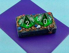 Ancient Treasure DiCounter Custom Dice Life / Score by Onigaming