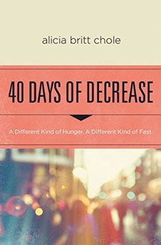 40 Days of Decrease cover