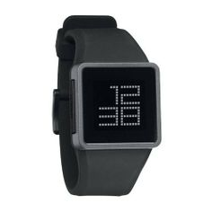 Nixon Newton Digital Watch - Men's Black/Gray, One Size NIXON. $125.00. Condition:brand new with tags. Band color: black. Dial color: black digital dial. Brand:Nixon. Model: A137007. Devote your thoughts to physics, and leave the time-telling to the Nixon Newton Digital Watch for Men. A simple, single-button toggle switches from time to day-and-date, so you'll always remain punctual no matter how many apples fall on your dome..