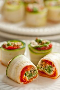 Raw vegan lasagna rolls  #food #health