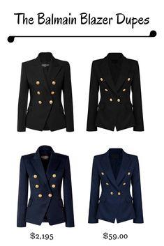 e11e9791 36 Best Balmain blazer outfits images in 2019 | Fashion women ...