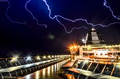Pictures of Lightning from a Cruise Ship, Celebrity Constellation Cruise Travel, Cruise Vacation, Vacation Destinations, Romantic Vacations, Romantic Getaway, Pictures Of Lightning, Celebrity Eclipse, Crystal Cruises, Cruise Pictures