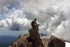 adventure, reflection, backpacker