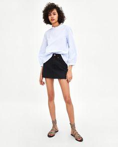 da289887d Las 31 mejores imágenes de moda   Woman, Zara women y Black tops