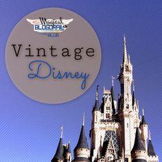 The Magical Blogorail: Vintage Disney with Magical Blogorail Blue