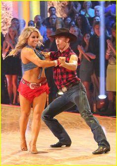 Dancing With The Stars Season 15 Fall 2012 Shawn Johnson and Derek Hough Cha Cha Cha