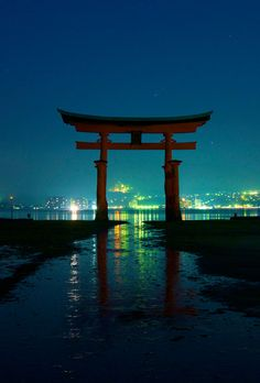 Itsukushima shrine, Japan repinned by www.BlickeDeeler.de
