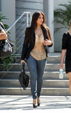 Kim Kardashian Fashion and Style - Kim Kardashian Dress, Clothes, Hairstyle - Page 104