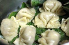 Raviolis vapeur aux petits pois/basilic ou shiitakes/gingembre (recette vegan)