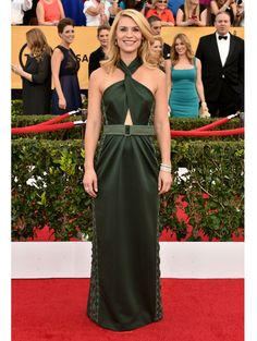 Claire Danes in Marc Jacobs at SAG Awards '15