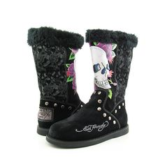 Ed hardy boots i want