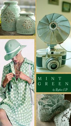 '' Mint Green '' by Reyhan Seran Dursun