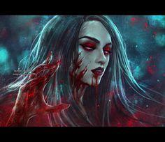 Vampire Elder by NanFe.deviantart.com on @DeviantArt