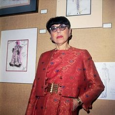 Costume Designer Edith Head's influence continues — immortalized both as a character in Pixar's The Incredibles, and today, as a Google Doodle tribute in honor of her 116th birthday. Name a classic film starring a female legend from the golden age of cinema, and she's likely felt the cool embrace of Edith Head's tape measure.-Shenwan W